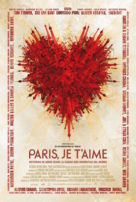 Paris, je t'aime.