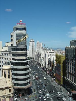 LAS FOTOS MÁS VISTAS EN LA GALERÍA FOTOGRÁFICA. PANORÁMICA DE LA GRAN VÍA DE MADRID