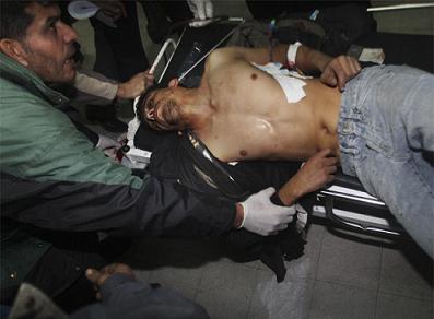 VERGÜENZA EN GAZA