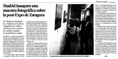 LA EXPOSICIÓN ZARAGOZA URBAN PHOTO, EN EL HERALDO