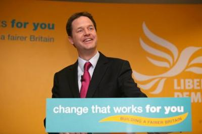 WELCOME, MR. CLEGG